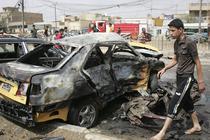 Un val de atentate a zguduit Bagdadul