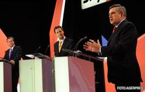 David Cameron, Nick Clegg si Gordon Brown