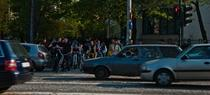 Biciclisti in Bucuresti
