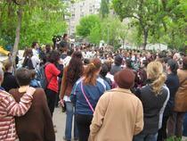 Protest in Parcul Emil Girleanu