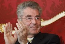 Presedintele Austriei Heinz Fischer, reales