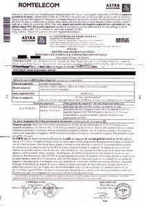 Asigurare de locuinta, Romtelecom-Astra