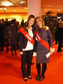 Alina la festivitatea de absolvire de la Lyon