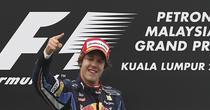 Sebastian Vettel, invingator in Malaezia
