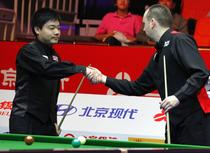 Williams (dreapta), mai bun decat Ding Junhui