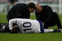 Rooney, accidentat in timpul meciului cu Bayern Munchen
