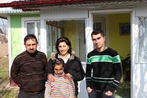 Andrei Trifan impreuna cu familia