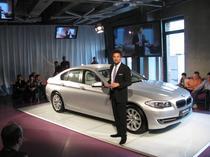 Oliver Heimler, sef design interior BMW seria 5