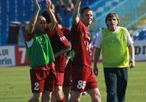 Jucatorii CFR-ului, bucurosi dupa victoria cu Craiova