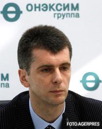 Mihail Prokhorov, patronul New Jersey Nets