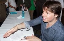 Joshua Bell la sesiunea de autografe