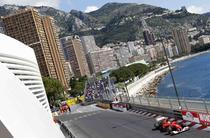 Fernando Alonso pe circuitul de la Monte Carlo