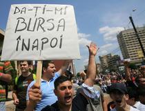 Protestul studentilor din Iasi