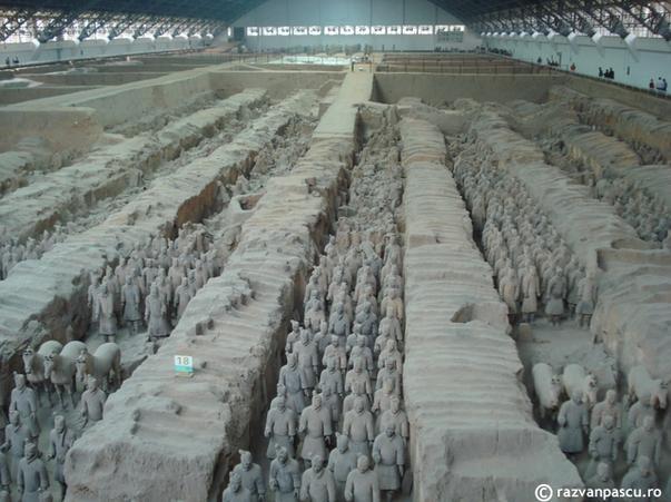 Armata de Teracota de la Xi'an, China