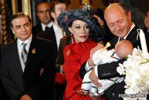 Traian Basescu, nasul de botez al lui Carol Ferdinand de Romania