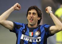 Diego Milito, decisiv pentru Inter