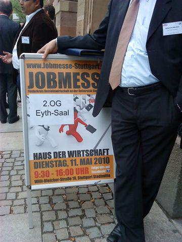 Targul de joburi la Stuttgart