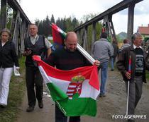 Pelerinii maghiari au vizitat locul fostei granite austro-ungare