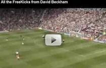 David Beckham, executantul perfect
