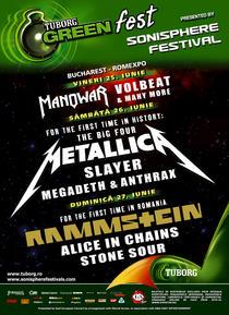 afis Sonisphere Festival Romania