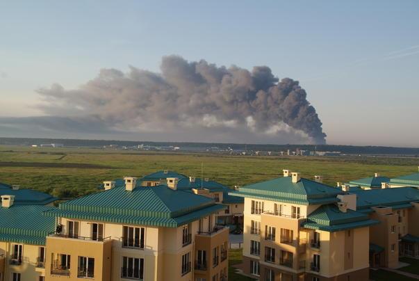 incendiu la complexul comercial Eurpoa