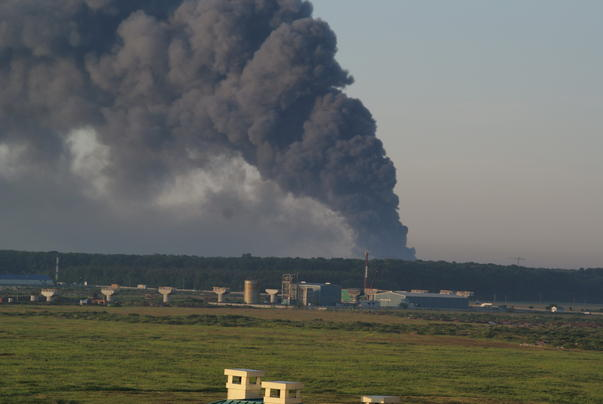 incendiu la complexul comercial Eurpoa (2)
