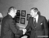 David Rockefeller si Nicolae Ceausescu (1978)
