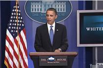 Obama la conferinta de presa