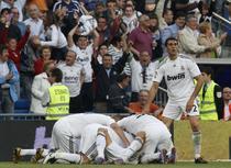 Realul sarbatoreste golul victoriei