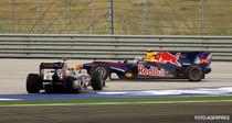 Incident intre coechipierii de la Red Bull