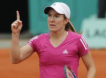 Justine Henin, la Roland Garros