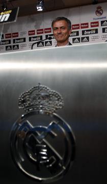 Jose Mourinho, la Real Madrid