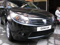 Dacia a lansat o serie la care domina negrul