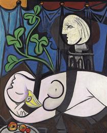 Pablo Picasso - Nu au Plateau de Sculpteur
