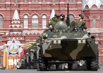 Tancuri rusesti in Piata Rosie 2