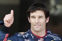 Mark Webber, pole position in Belgia