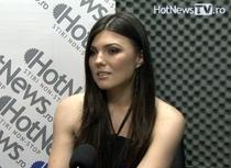 Paula Seling in studioul HotNews