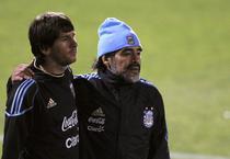 Messi si Diego, spre titlul mondial