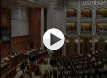 LIVE Sedinta din Parlament