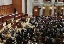 Sedinta in Parlament