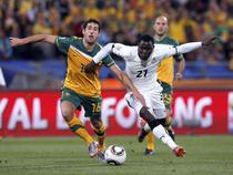 Fotogalerie Ghana vs Australia