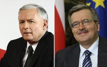 Jaroslaw Kaczynski si Bronislaw Komorowski