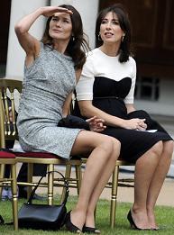 Carla Bruni si Samantha Cameron