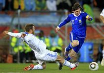 Messi, faze spectacol contra Greciei