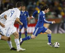 Messi, pe primul loc la suturi pe spatiul portii