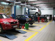 Service-ul Toyota Bucuresti Nord
