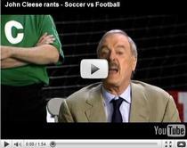 John Cleese, despre fotbal