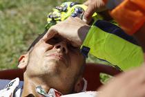 Rossi, accident in Marele Premiu al Italiei