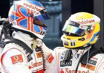Hamilton si Button