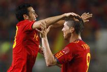 Spania, in mare forma